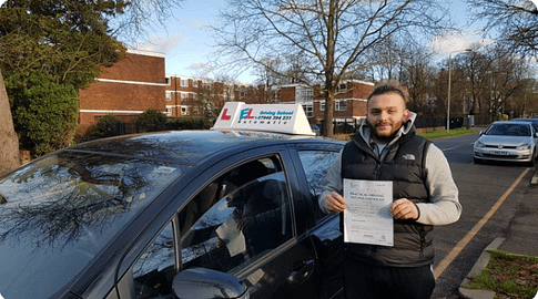 Automatic driving tuition in Beckenham