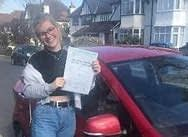 girl just passed her driving test in Bromley. BR1